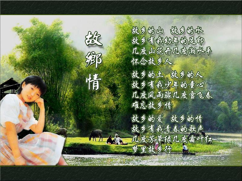 程琳经典 故乡情 葫芦丝曲谱 示范