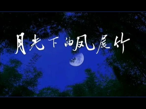 月光下的凤尾竹 葫芦丝曲谱和照版