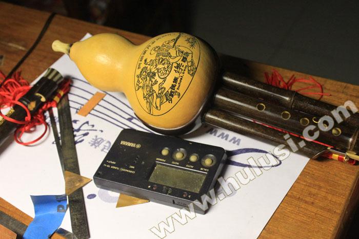 葫芦丝调音方法图解